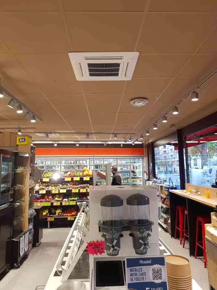 clim épicerie